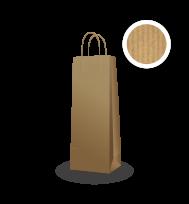 Papírtáska ÖKO (1 palackos)